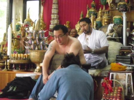 Ajahn Or with Anthony Siam