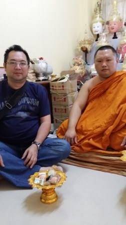 Ajahn Suphasit with Anthony Tang